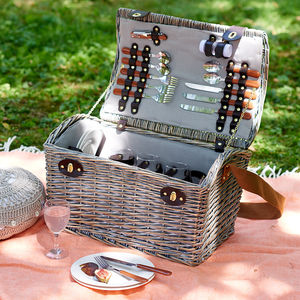Willow Picnic Basket And Hamper - outdoor living