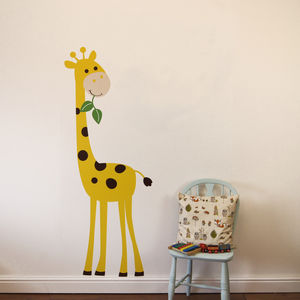 Giraffe Wall Stickers - children's room