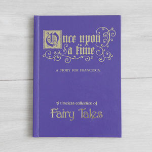 Personalised Fairy Tales Book - gifts for children