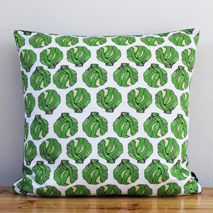 Christmas Sprout Cushion - cushions