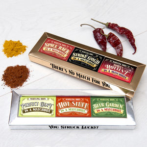 Matchbox Gift Set For Him - food & drink sale