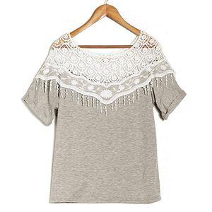 Vintage Lace T Shirt