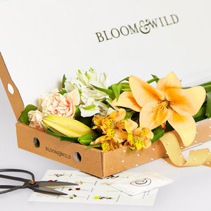 Letterbox Flower Bouquet - gifts for her