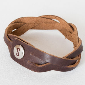 Braided Leather Bracelet - view all sale items