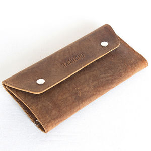 Leather Travel And Documents Wallet