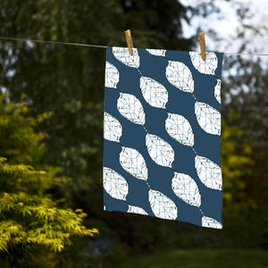 Beech Leaves Tea Towel