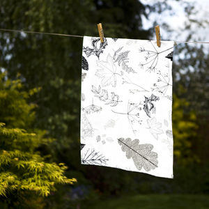 Hedgerow Medley Tea Towel - kitchen