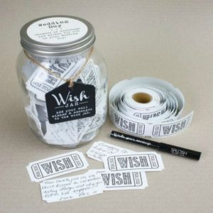 Wedding Wish Jar - albums & guest books