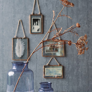 Copper Glass Hanging Frame - sale by category
