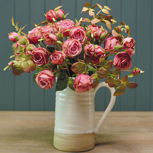 Faux Rose Stem - flowers