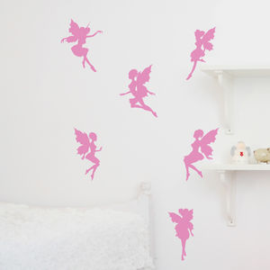 Magical Fairies Wall Sticker - children's room