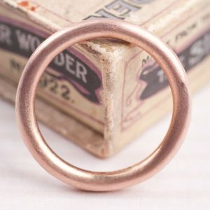 Textured Solid Gold Halo Band - rings