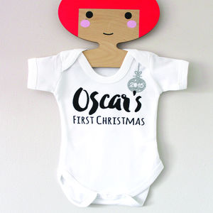 Babies First Christmas Bauble Babygrow - view all gifts for babies & children