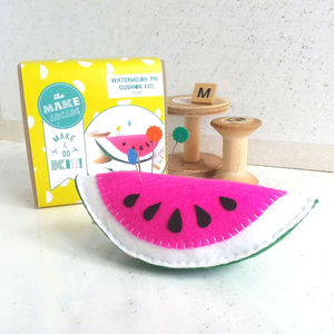 Watermelon Pin Cushion Craft Kit - gifts for children