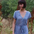 Indian Cheesecloth Shirt Dress
