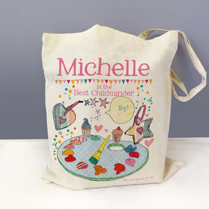 Personalised Childminder Bag