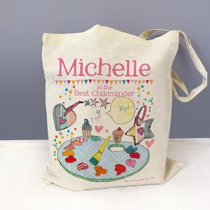 Personalised Childminder Bag