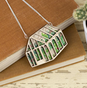 Jungle Greenhouse Necklace
