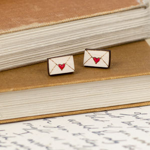 Love Letter Earrings - gifts for her