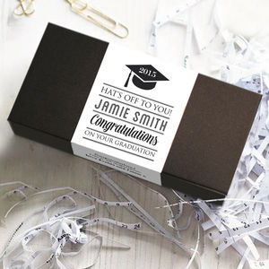 Congratulations Graduation Personalised Chocolate Bars