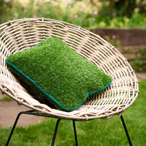Artificial Grass Outdoor Cushion - plain cushions