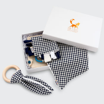 Houndstooth Newborn Gift Set