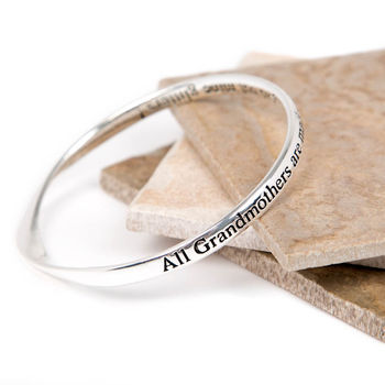 Grandmother Message Bangle