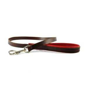 Padded Leather Dog Leads - new in pets