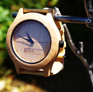 Handcrafted Light Wood Watches Bear Essentials - watches