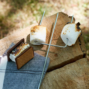 Long Barbecue Marshmallow Toasting Fork