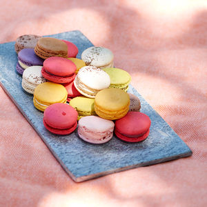 Box Of 10 French Macarons - wedding favours