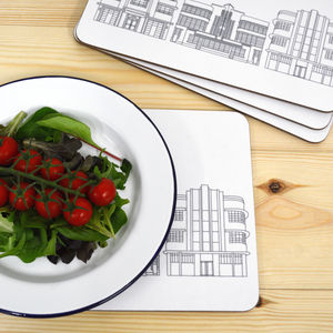 Deco Building Placemats