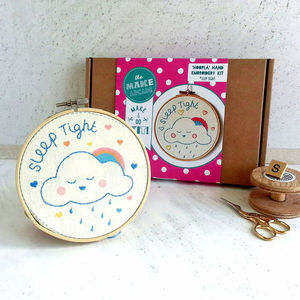 'Sleep Tight' Embroidery Craft Kit - interests & hobbies