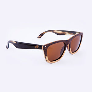 Magellan Two Tone Wenge Unisex Sunglasses - sunglasses