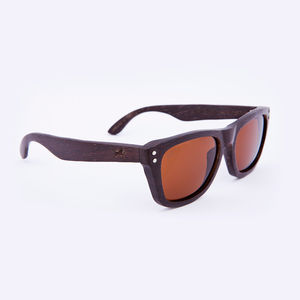 Cavendish Wooden Wenge Unisex Sunglasses - gifts for him