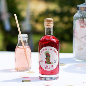 Raspberry Gin Liqueur - gifts under £25 for her