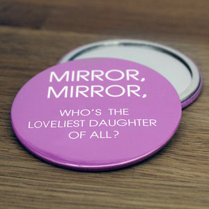 Mirror, Mirror Daughter's Compact - compact mirrors