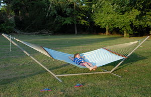 Extra Large Deck Set Hammock And Stand Set