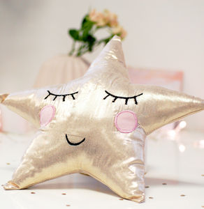 Cute Children's Star Cushion - dreamland nursery
