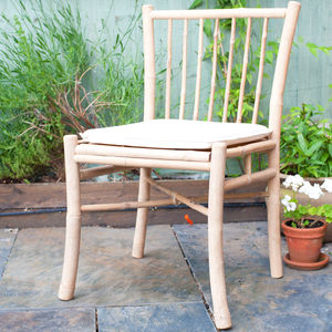 Bamboo Dining Chair - small garden ideas