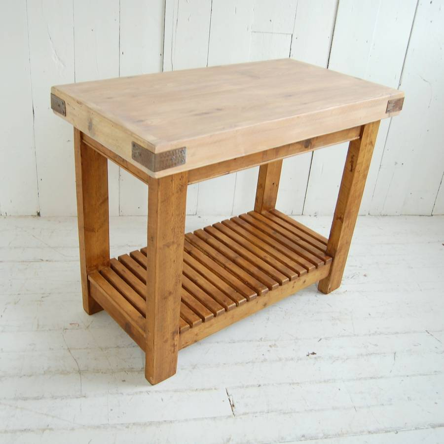 Reclaimed Timber Butchers Block By Eastburn Country