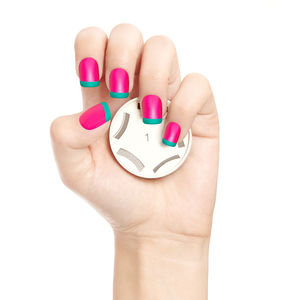 Go Manicure Nail Art Stamp - cool nails
