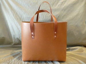 Classic Leather Tote Bag - best bags autumn winter