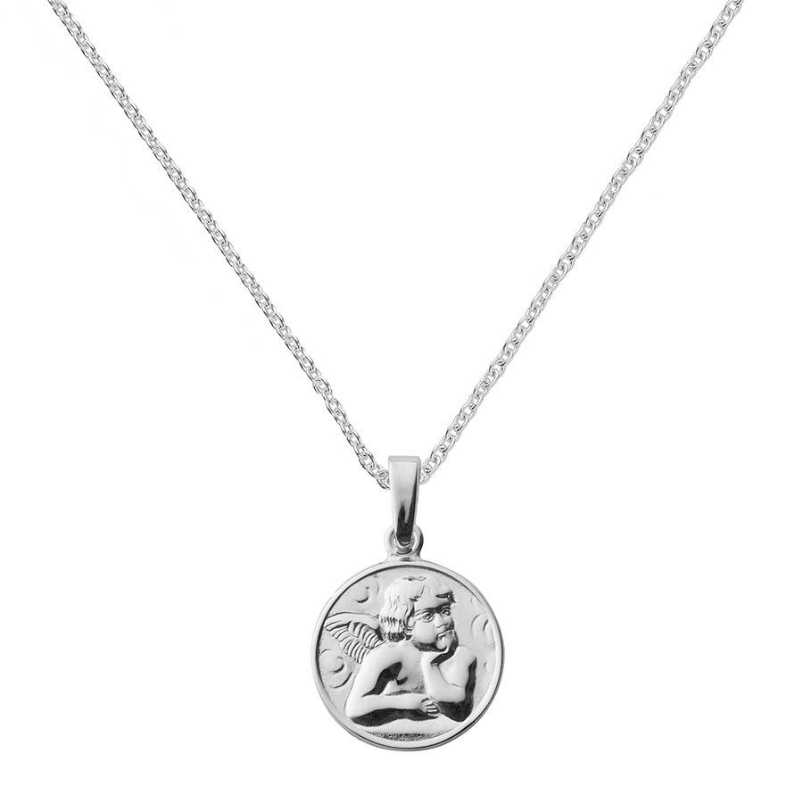 baby product silver people jewellery the angel smaller pendant for
