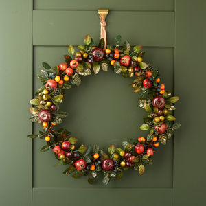 Luxury Fruit Wreath - wreaths