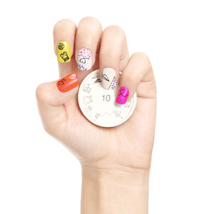 Papirus Nail Art Stamp - little extras for her