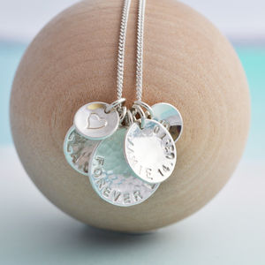 Personalised 'Her Story' Necklace - gifts for new parents