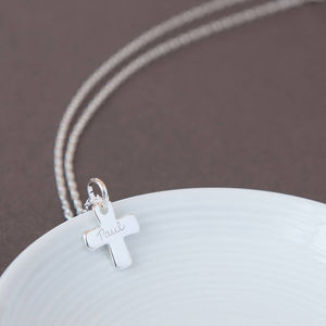 Personalised Holy Communion Chain Necklace