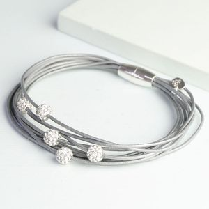 Multi Strand Shamballa Bracelet - view all sale items