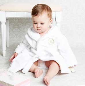 Personalised Royal Baby Dressing Gown